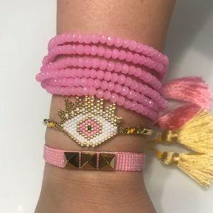 Fashion Handmade Evil eye Bracelet ser of 3